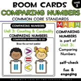 Comparing Numbers to 20  for Boom Cards™