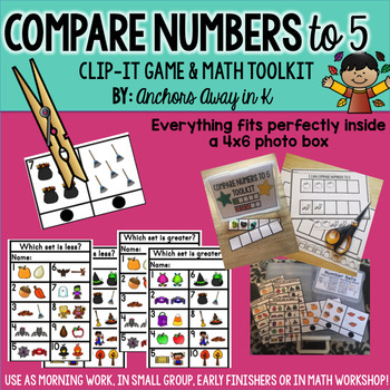 Comparing Numbers to 5 (Fall Version)