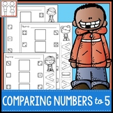 Comparing Numbers to 5 Centers