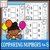 Comparing Numbers to 5 Kindergarten