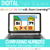 Comparing Numbers to 999 | Digital Task Cards | Boom Cards™