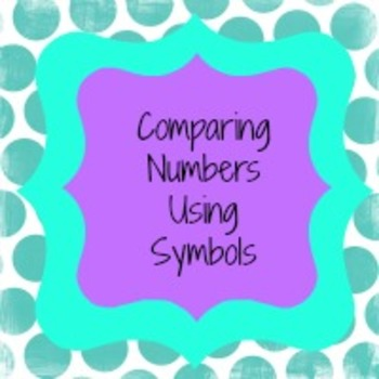Comparing Numbers using Symbols