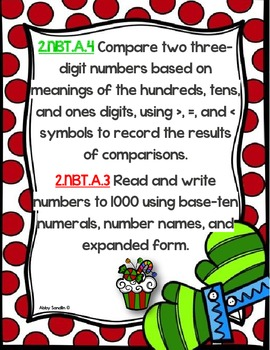 Comparing Numbers using the Expanded Form : 2.NBT.A.4, 2.NBT.3A.