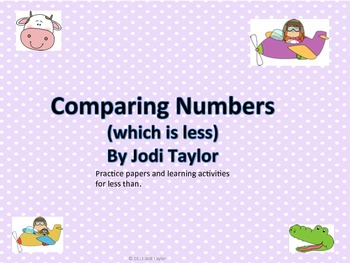 Comparing Numbers (which is less)