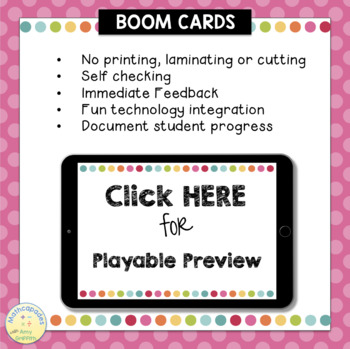 Comparing Numbers with BOOM Cards - 3.2D 4.2C