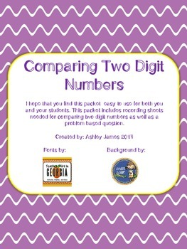 Comparing Numbers with Correct Notation