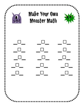 Comparing Numbers with Monster Math