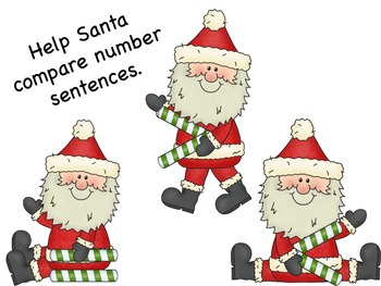 Comparing Numbers with Santa