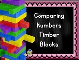 Comparing Numbers(within 1 million)Timber Block  (Jenga Based OR Board Based Gam