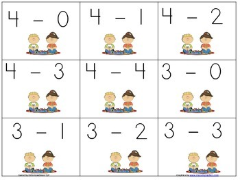 Comparing NumbersSentences-Greater Less Game with Addition and Subtraction to 5