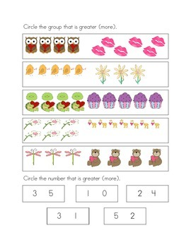 Comparing Numerals and Groups