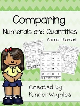 Comparing Numerals and Quantities