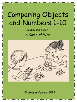 Comparing Objects and Numbers 1-10