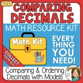 Comparing & Ordering Decimals using models - tenths & hund