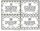 Comparing, Ordering, Estimating Fractions: Set of 24 Task Cards