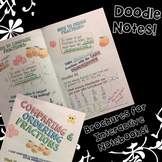 Comparing & Ordering Fractions - Decorated Notes Brochure for INBs