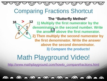 Comparing & Ordering Fractions & Mixed #s (5th Grade EnVision Math Power Point)