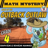 Comparing Numbers & Ordering Numbers (Up to Ten Million) Math Mystery Activity