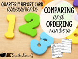 Comparing & Ordering Numbers Assessments