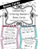 Comparing & Ordering Numbers Boom Cards SOL 3.1c