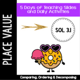 Comparing, Ordering and Decomposing Numbers - VA SOL 3.1 -