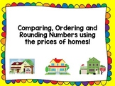 Comparing, Ordering and Rounding Numbers using House Prices