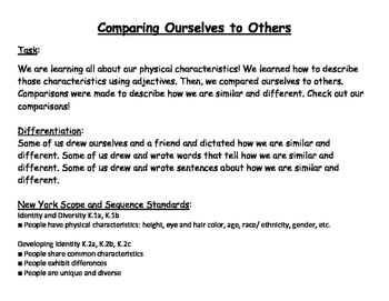 Comparing Ourselves to Others
