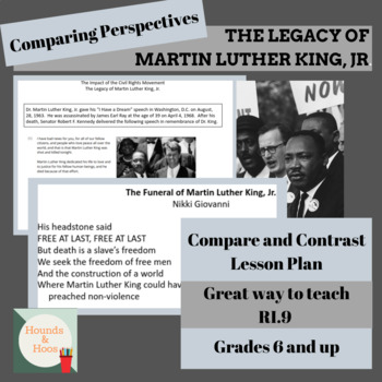 Comparing Perspectives- The Impact of MLK