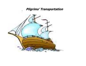 Comparing Pilgrims' lifestyle to ours