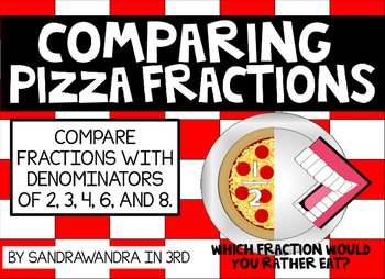 Comparing Pizza Fractions