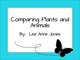 Comparing Plants and Animals