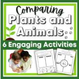 Comparing Plants and Animals in Kindergarten K-LS1-1 Dista