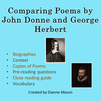 Comparing Poems by John Donne and George Herbert