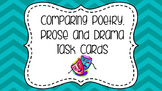 Comparing Poetry, Prose and Drama