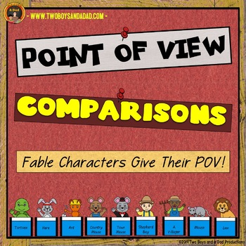 Comparing Points of View Of FABLE Characters PowerPoint