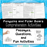 Comparing Polar Bears & Penguins - Reading Passages and Comprehension Activities