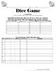 Comparing Practice in Spanish, Dice Game