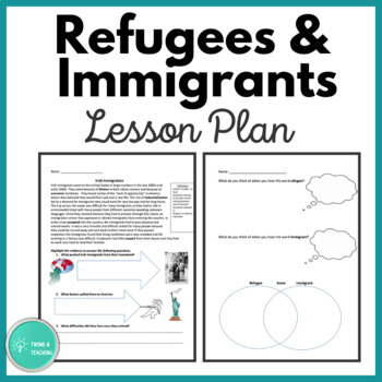 Refugees and Immigrants, How Are They Similar?