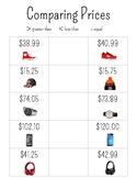 Comparing Prices