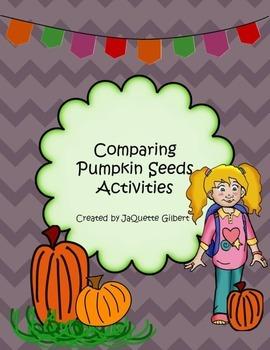 Comparing Pumpkins Activities