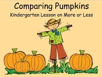 Comparing Pumpkins Promethean Flipchart