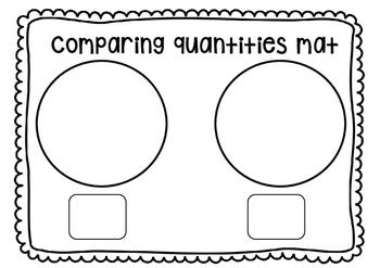 Comparing Quantities Mat