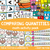 Comparing Quantities {Math Activities Pack #8}