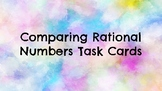 Comparing Rational Numbers Task Cards
