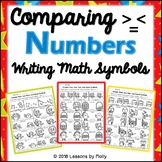 Comparing Real Numbers and Writing Math Symbols/Greater th