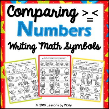 Comparing Real Numbers and Writing Math Symbols/Greater than, Less Than, Equal