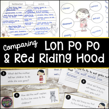 Red Riding Hood and Lon Po Po (Compare and Contrast Fairy Tales)