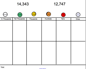 Comparing, Regrouping, and Adding Whole Numbers Smartboard