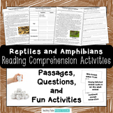 Comparing Reptiles and Amphibians - Reading Passages and Activities