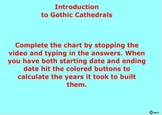 Comparing Romanesque and Gothic Cathedrals - Bill Burton